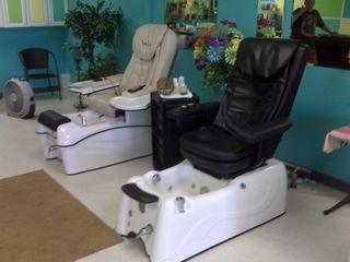Pedicure chairs:massage
